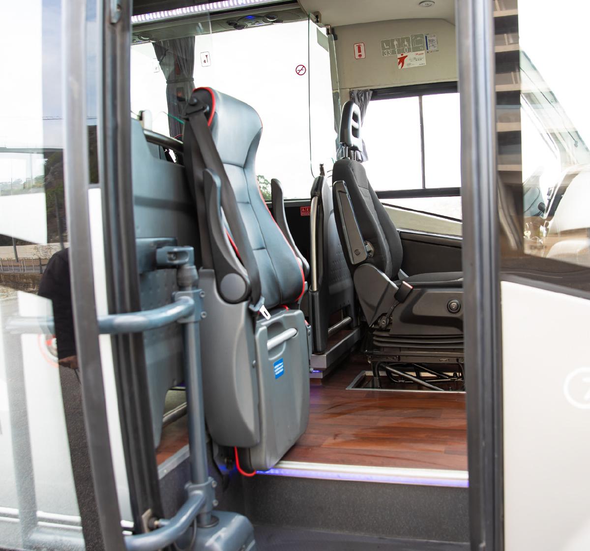 Autocarros Transdev Entrada