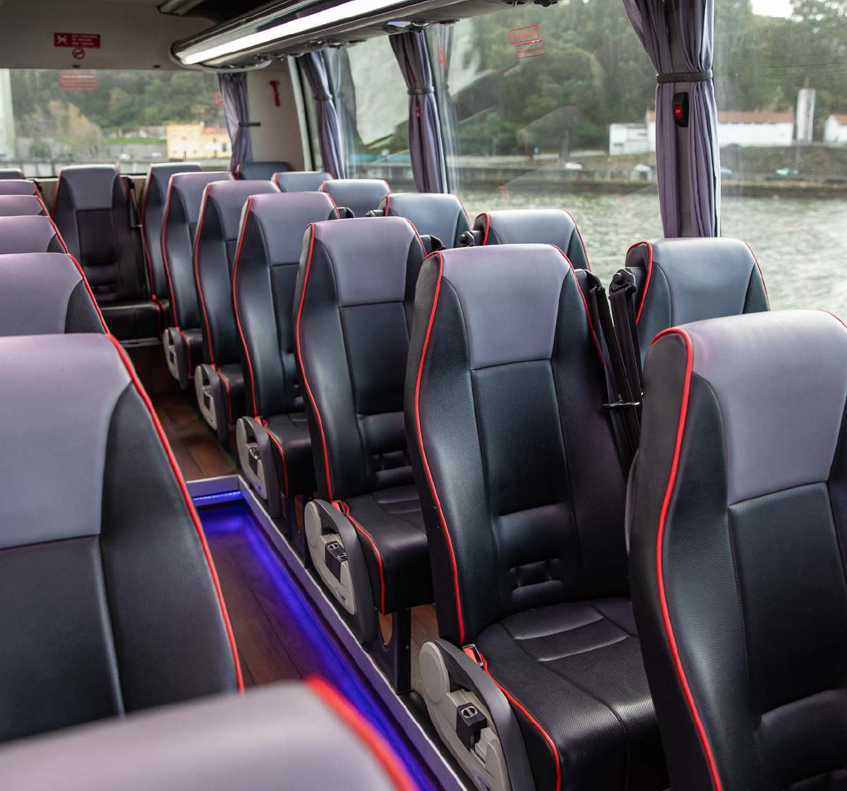 Autocarros Transdev interior