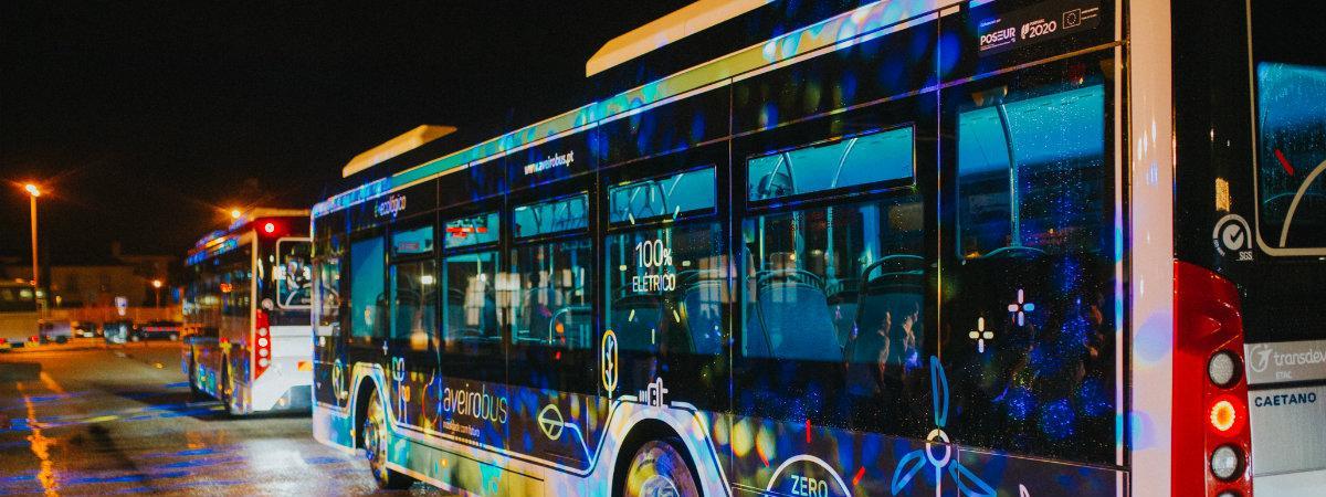 veículos elétricos, autocarros elétricos, Aveirobus