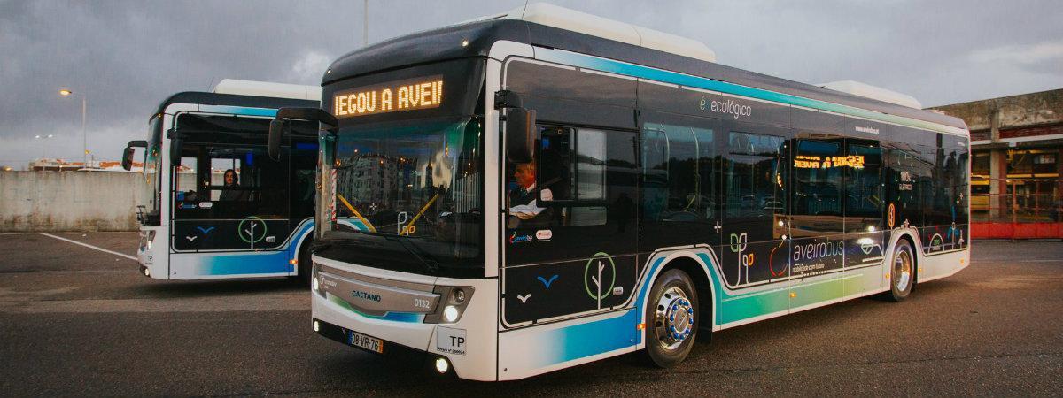 autocarros elétricos, aveirobus