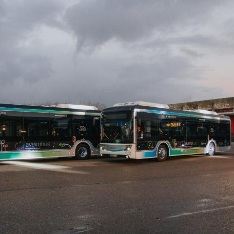 Transdev - Aveiro - Aveirobus - autocarro elétrico - mobilidade elétrica - zero emissões