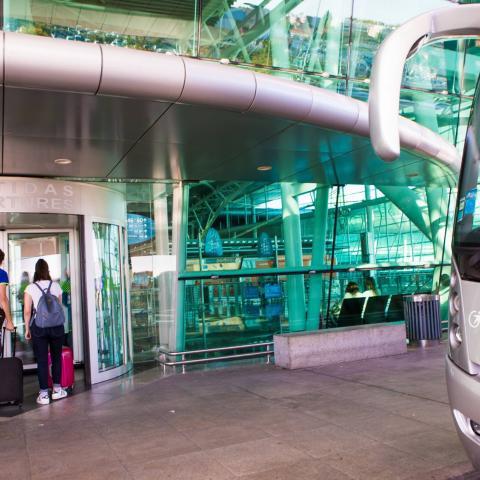 Transdev autocarros - aeroporto