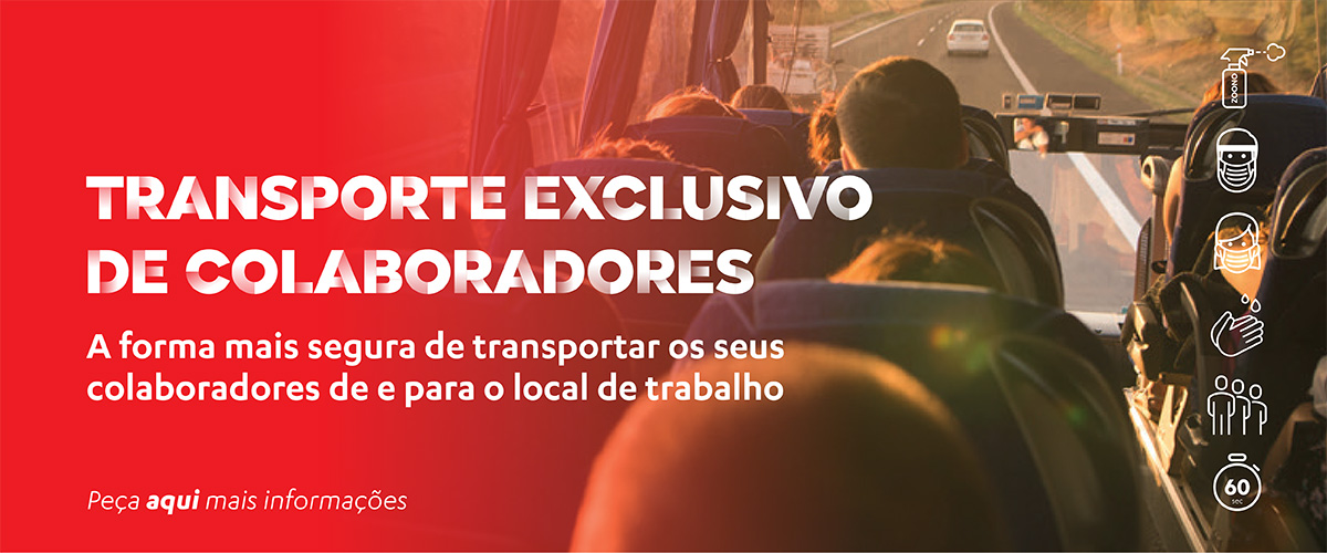 Transporte exclusivo de colaboradores